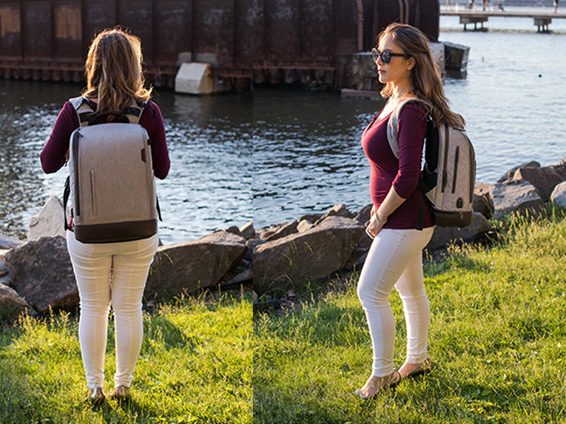 16L Backpack in Heather Gray